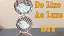 Do Lixo ao Luxo : Quadrinhos para Decoração com CD - Reciclar DIY Artesanato