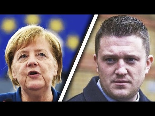 'She Wants To DESTROY Her Country' - Tommy Robinson Delivers Great Speech About Germany