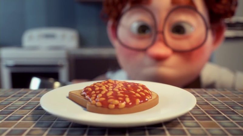Spectacular Animated Heinz's New Baked Beans Ad