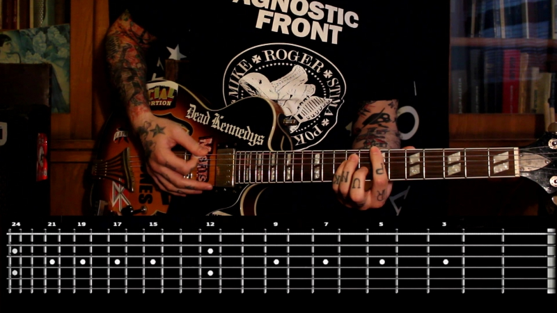 Sasha Rock'n'Roll guitar lessons - Suicide Machines (Beat My Head Against The Wall) видео урок №17 tutorial