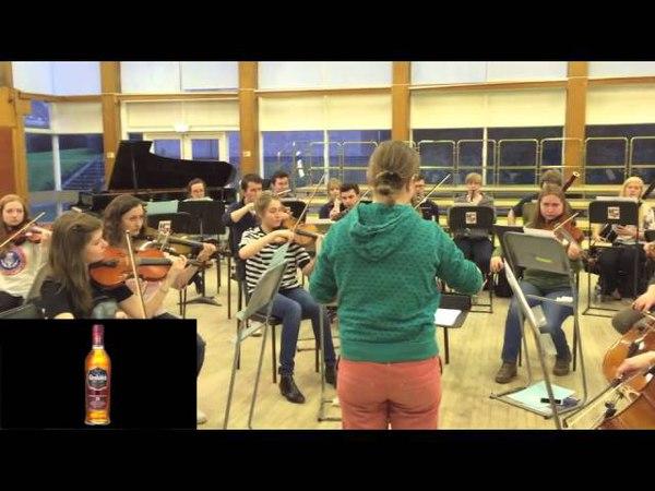 Aberdeen Universitys Marischal Chamber Orchestra presents the Glenfiddich 15 Year Old (melody 2)