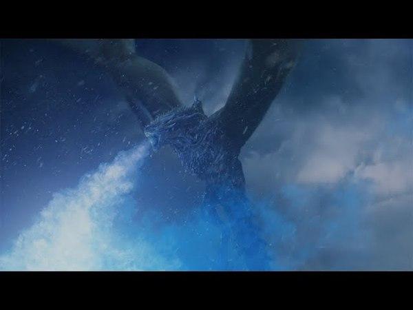 Король Ночи разрушает Стену - Игра Престолов 7x07 HD