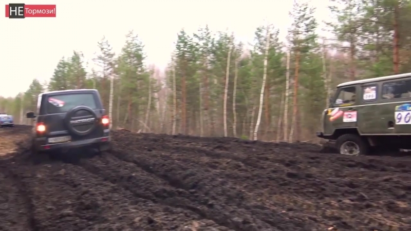 Стоковый ЛУАЗ и ГАЗ 69 против Нивы и УАЗа. Что делать, когда все застряли Русска