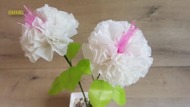 Cara Membuat Bunga dari Plastik Kresek yang Simple Mudah Sederhana
