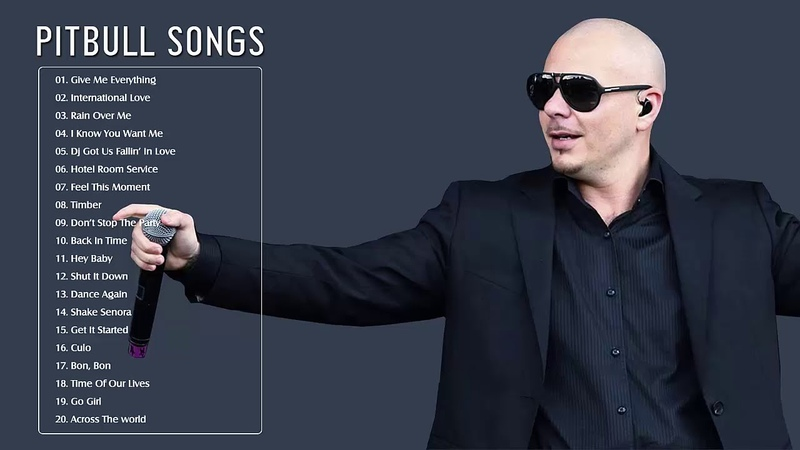 Pitbull Songs Greatest Hits (Full Album) Best Songs of Pitbull Songs (HQ)