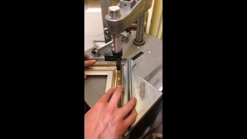 Работа багетной мастерской