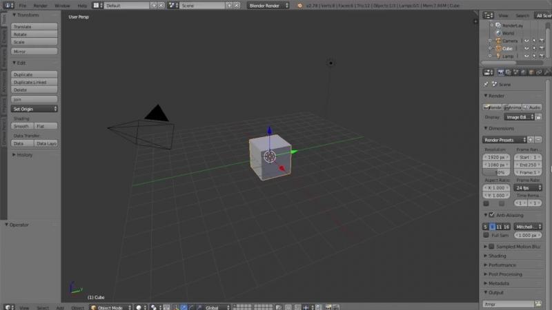 Гоша Дударь Blender 3D моделирование Урок 18 Заключительный урок