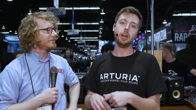 Arturia Minibrute 2, 2S and Rackbrute - NAMM 2018