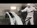 Покраска бампера 4000 руб для Skoda Rapid