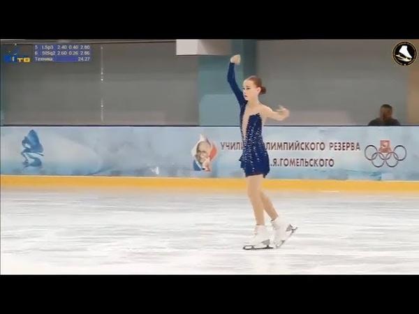 Ника КАСЬЯНОВА КП Турнир на призы Юниор ТВ 17 11 2018