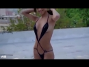 Sexy Hot Latin Girl Shakes it in bikini to robert marlow song be naked when I ge