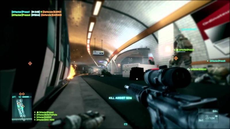 Battlefield 3: Operation Metro Multiplayer Gameplay Trailer (E3)