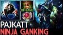 Pajkatt [Nyx Assassin] Ninja Ganking Offlane 16 Kills 7.19 Dota 2