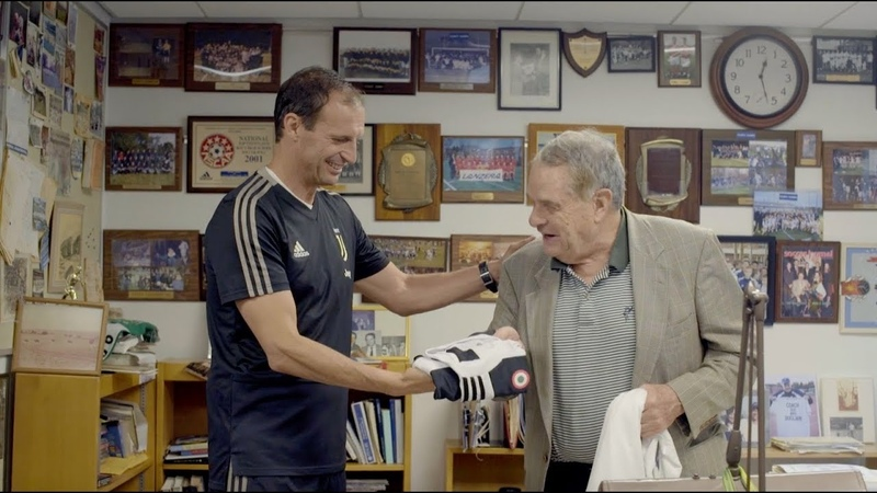 Juventus coach Massimiliano Allegri meets The Pingry School's legendary Coach Bugliari! | CONTAJUS