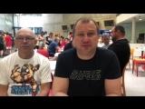 Евгений Попов, Сергей Бордюговский с чемпионата Европы по вольной, греко-римской и женской борьбе среди школьников.