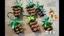 ❄🎄Ёлочные игрушки из лент❄🎄/Шишечки на ёлку❄🎄/Christmas Decorations