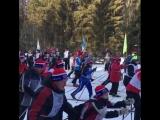 Старт лыжни России в Перми 10 февраля 2018. Видео