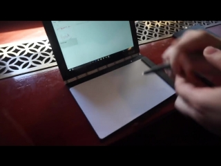 Lenovo Yoga Book- Hands-on