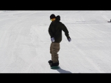 Snowboard Addiction| Buttering (Goofy) - Tail Butter 180 Goofy