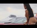 Dolly Castro Ferrari shoot by Montoya