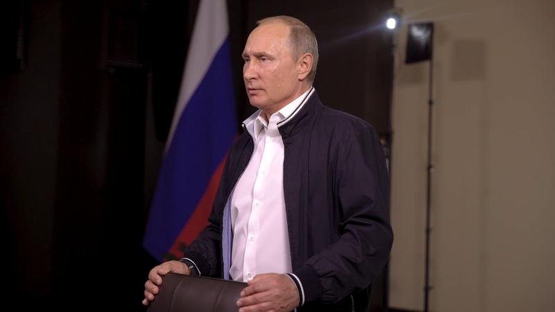 Владимир Путин: Дерзайте! Все в ваших руках!