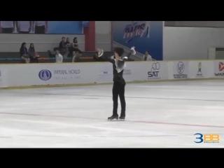 Sota yamamoto 山本草太 asian open figure skating trophy 2018 men - short program