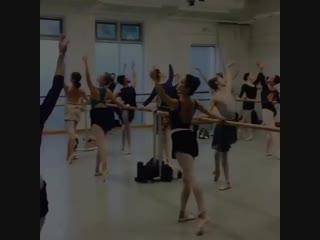 Morning ballet class ✨the washinton ballet