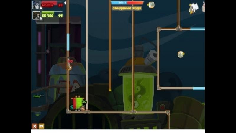 Вормикс: Я vs Алик (4 уровень)