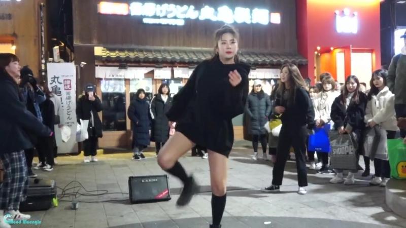 180219 굿데이(Good Day) 10 Days V-Live 게릴라 버스킹 - 방탄소년단(BTS) MIC Drop 비바 직캠