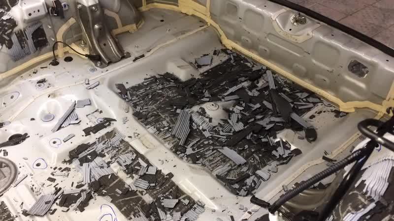 Штатная шумоизоляция Mitsubishi ASX