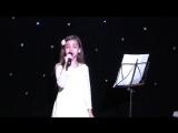 Таисия Рудниченко - талантливая ученица нашей школы вокала.