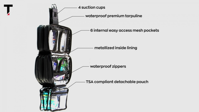 [Taskin Xpress - The ultimate compact toiletry bag]