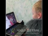 Реакция мальчика на наше видео-поздравление от Деда Мороза!