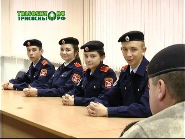 В димитровградском казачьем кадетском корпусе есть своя элита