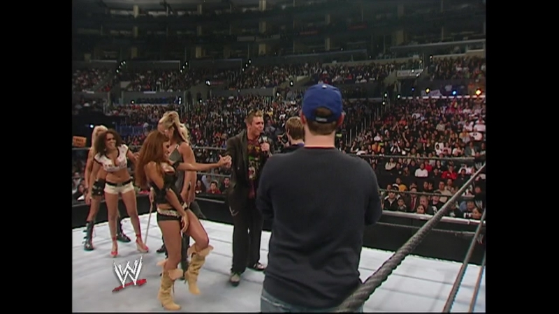 WWE Smack Down 20th October 2006 - Diva Dance-Off: Ashley / Kristal / Layla / Jilian / Michelle