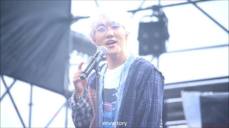 [FANCAM] Zion.T - The Song | JOY OLPARK FESTIVAL | Olympic Park (16.09.2018)