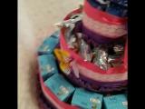 Тортик из соков и Барни для детского сада. ТМ