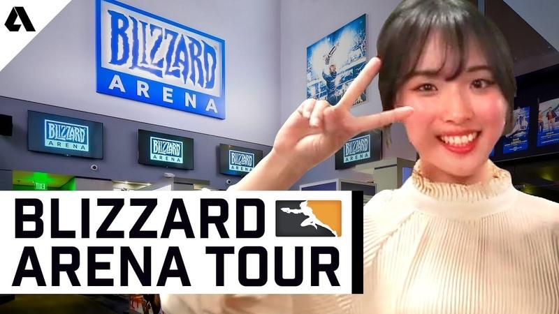 Overwatch League Blizzard Arena Guided Tour ft Hwimori Adam | Akshon Esports