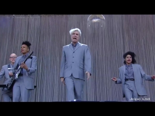 "David Byrne ""Once In A Lifetime"" Lollapalooza Santiago De Chile 2018 Full HD"