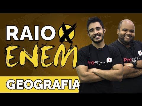 Raio X ENEM Os temas mais cobrados de Geografia - Prof. Leandro Almeida e Chicão