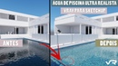 Água de piscina realista no V Ray para SketchUp