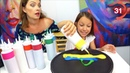 БЛИННЫЙ ЧЕЛЛЕНДЖ ЛЕТО Угадывай Вместе с Нами Pancake Art Challenge Вики Шоу