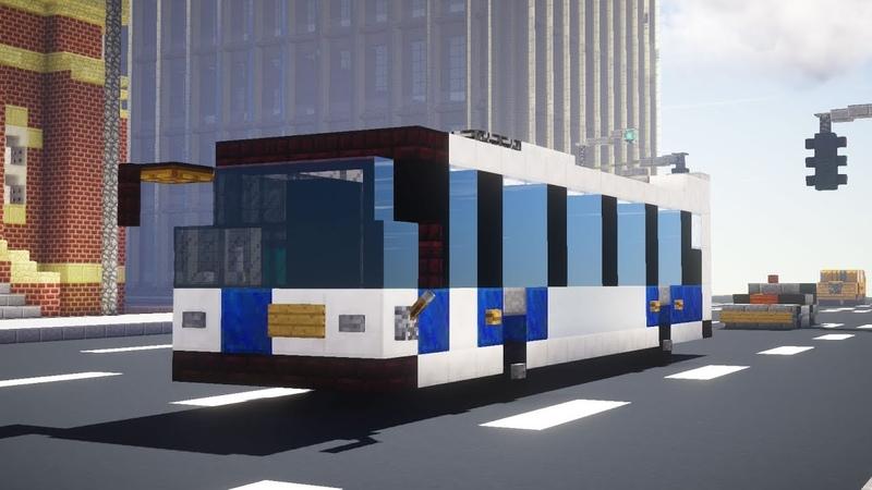 Minecraft NYC MTA Novabus LFS Bus Tutorial