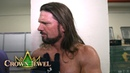 Styles discusses his two title defenses on SmackDown LIVE and at Crown Jewel WWE Exclusive