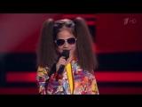 Участница из Казани Олеся Машейко на шоу «Голос.Дети»