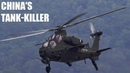 This attack helicopter is China's tank killer