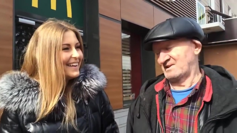 ДЕД БОМ БОМ - Рассказывает анекдот