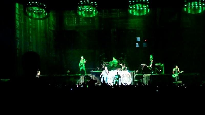 Rammstein Live in Moskau 10/02/2012 Du Riecht So Gut