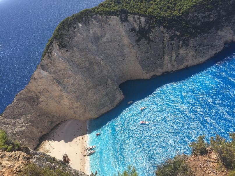 Бухта Навайо, остров Закинф, Греция