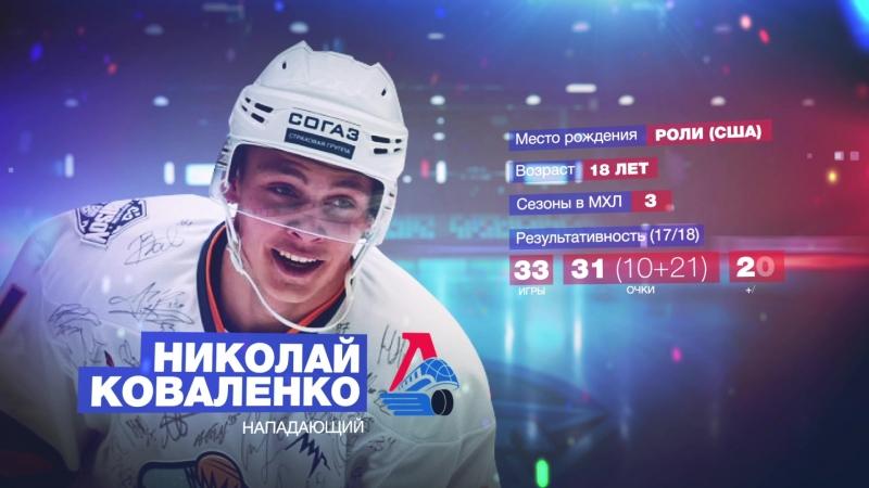 Истории МХЛ. Нападающий «Локо» Николай Коваленко